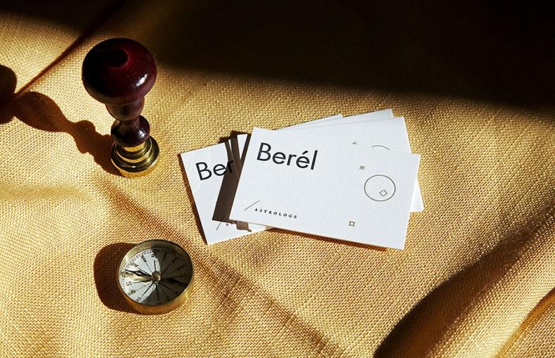 Berel Visitenkarten mit Kompass