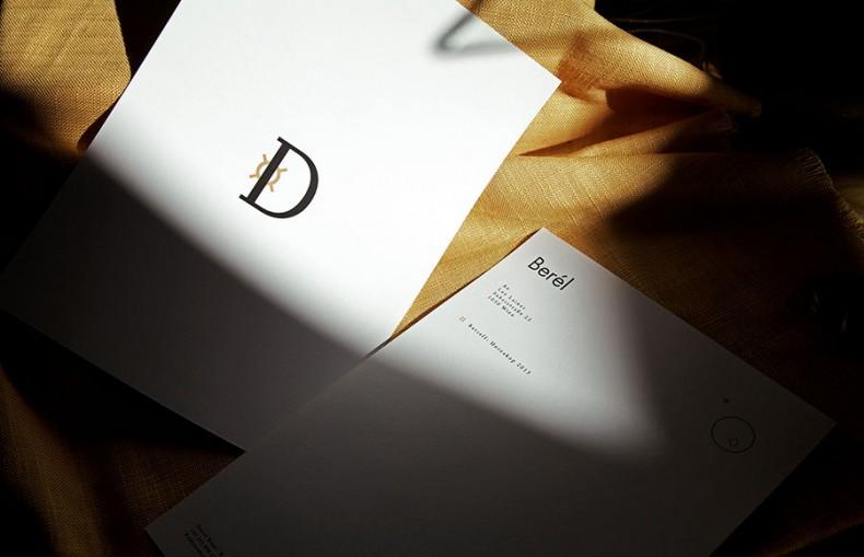Berel Briefpapier Vorder- und Rückseite