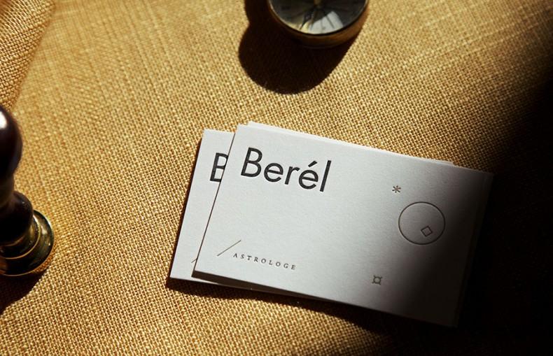 Berel Visitenkarten Closeup