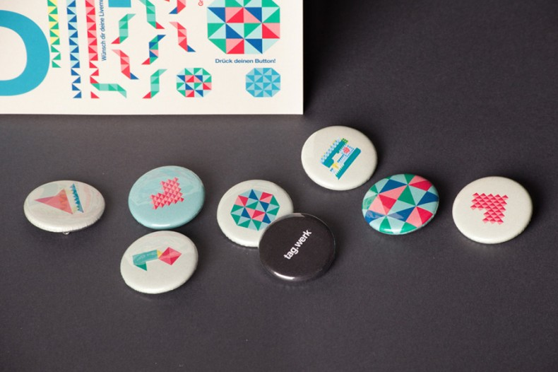Tagwerk – Buttons