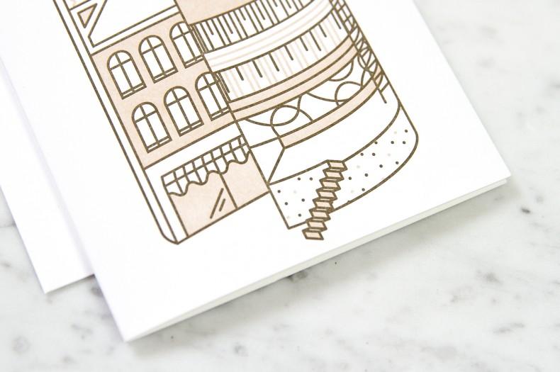 Illustration Konditorei - Detail