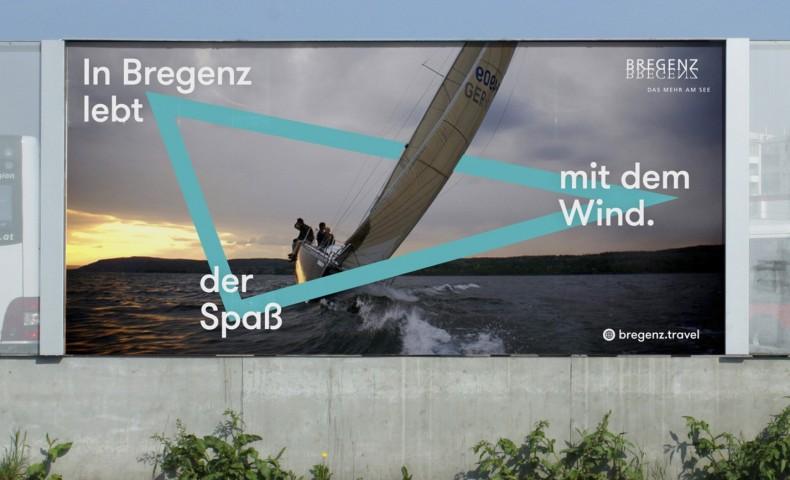 Bregenz Plakat – In Bregenz lebt der Spaß mit dem Wind.