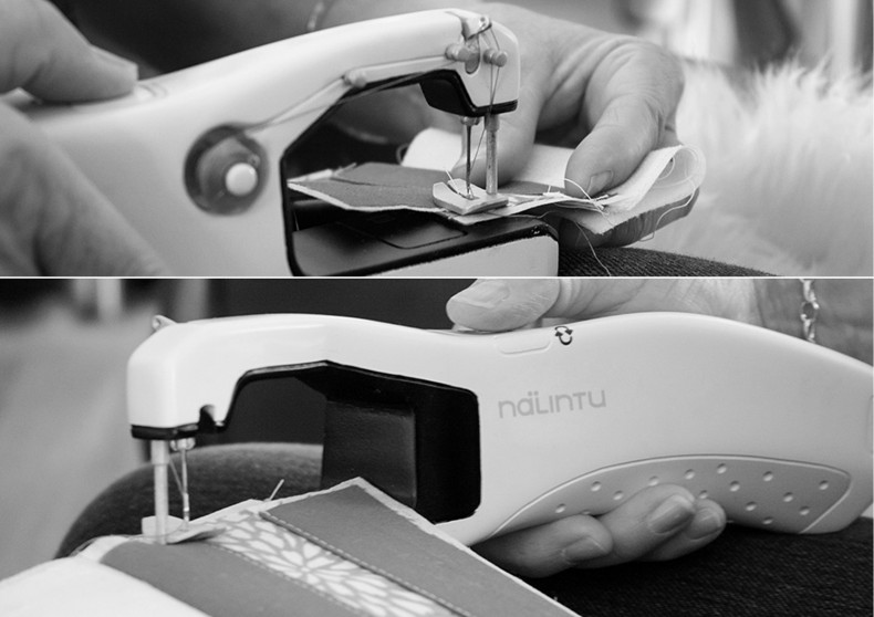Nalintu – Handheld Sewing Machine – It's working fine