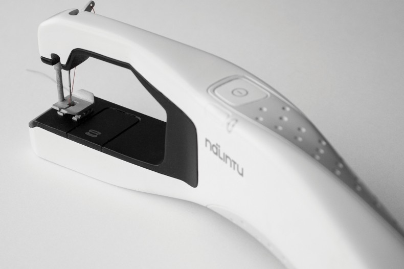 Nalintu – Handheld Sewing Machine – final product leftside up