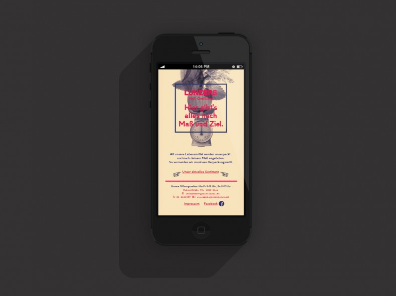 Lunzers Website