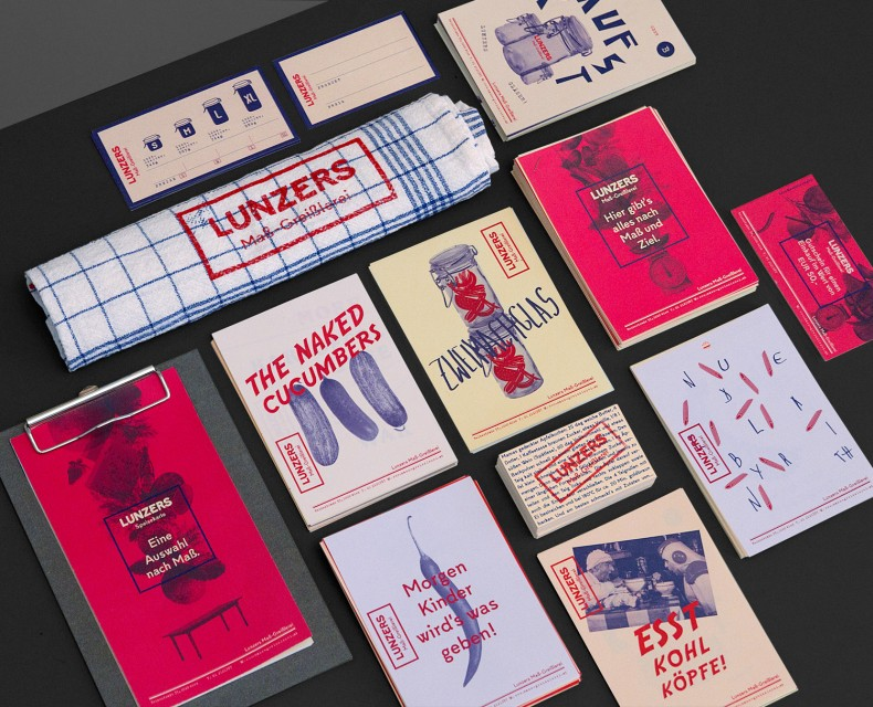Lunzers Corporate Design Überblick