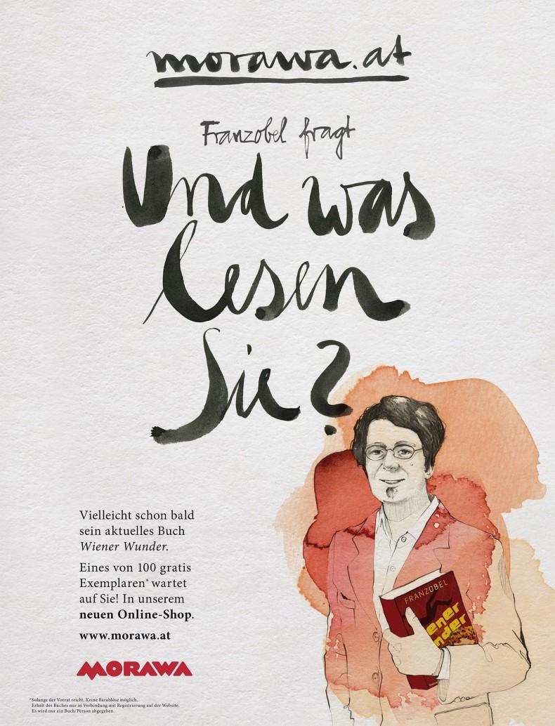 Kampagne – Und was lesen Sie? – Franzobel