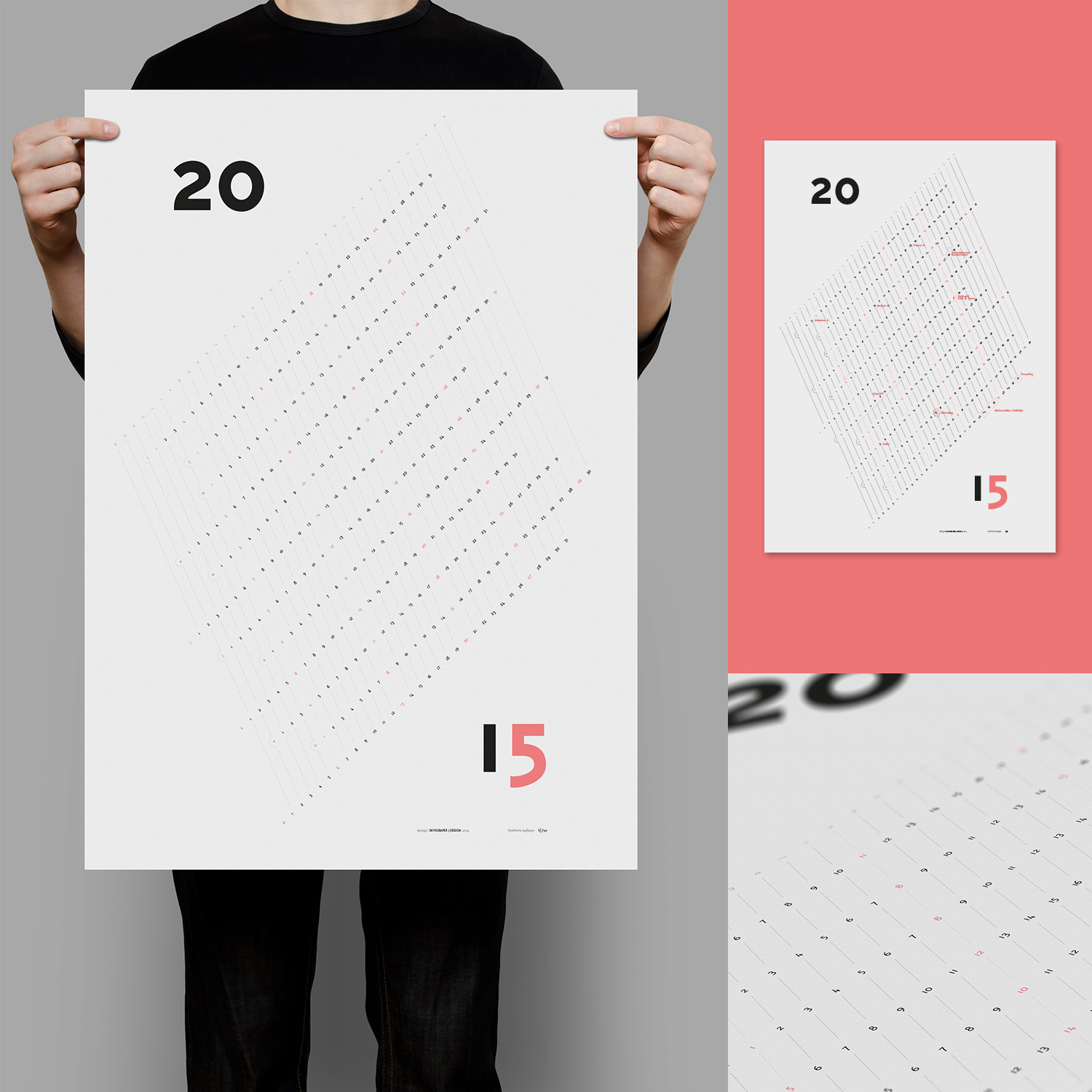 Kalender 2015 design made in austria for Kalender design
