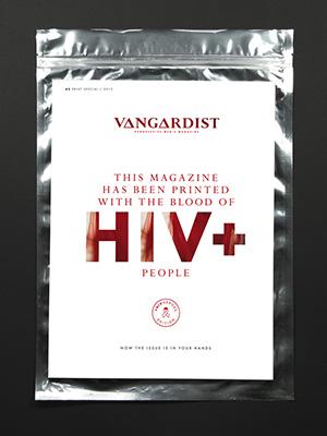 Cover – Vangardist Magzin – HIV+ Heroes