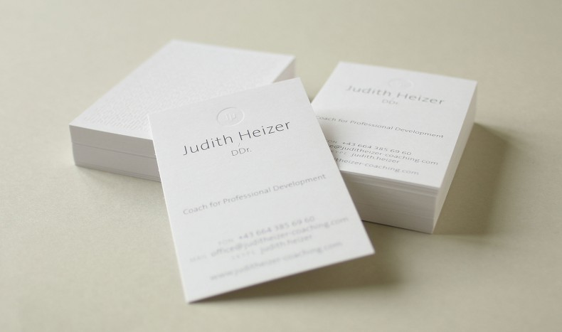 DDr. Judith Heizer Coaching – Corporate Design