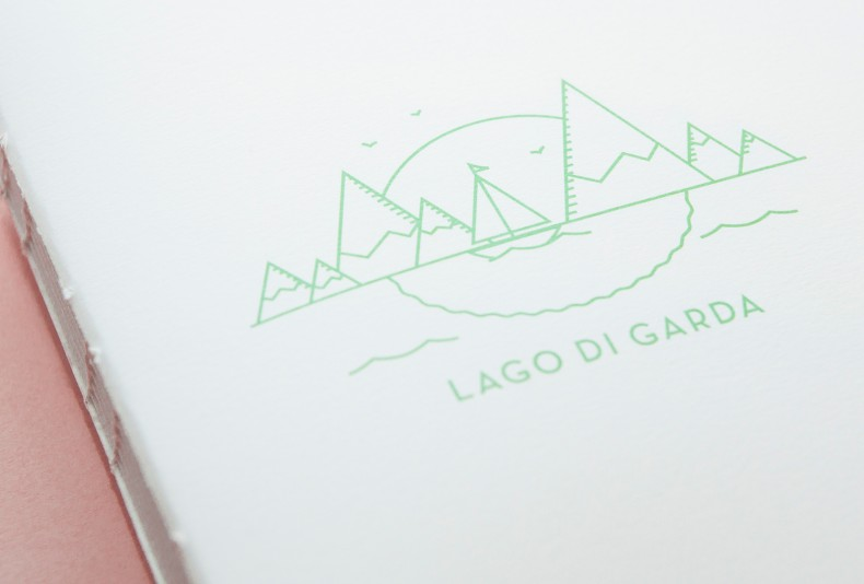 Lago di Garda – Illustration