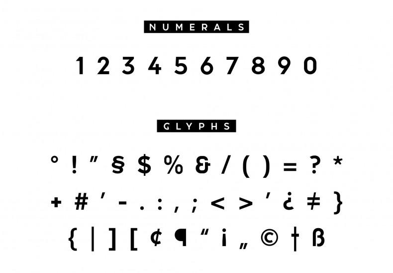 Arnicae Typeface