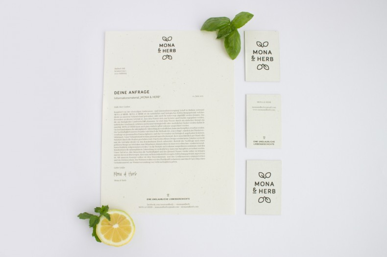 MONA & HERB – Corporate Design