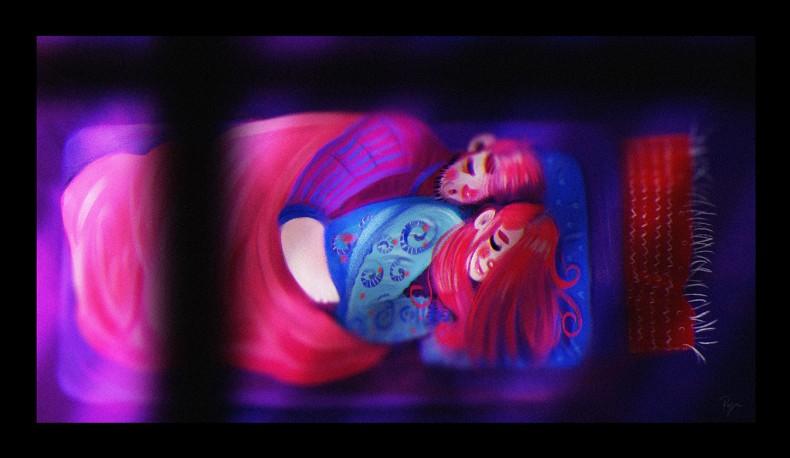 Illustration – Sleepover