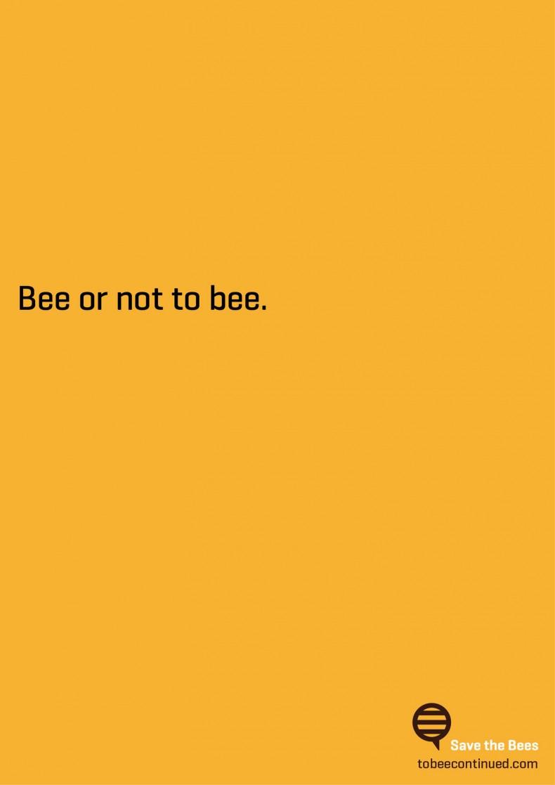 Bienenplakat