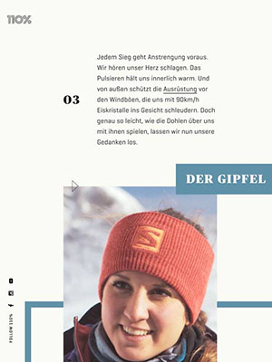 Cover – 110% Magazin