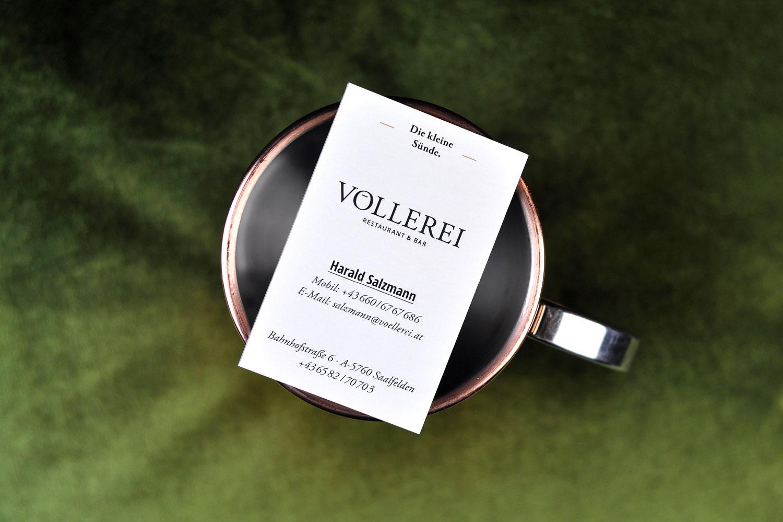 Völlerei Branding