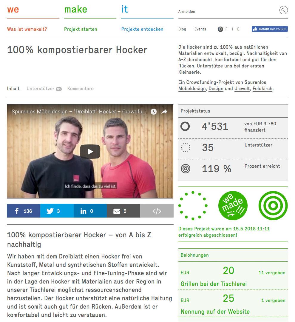 We make it – Screenshot