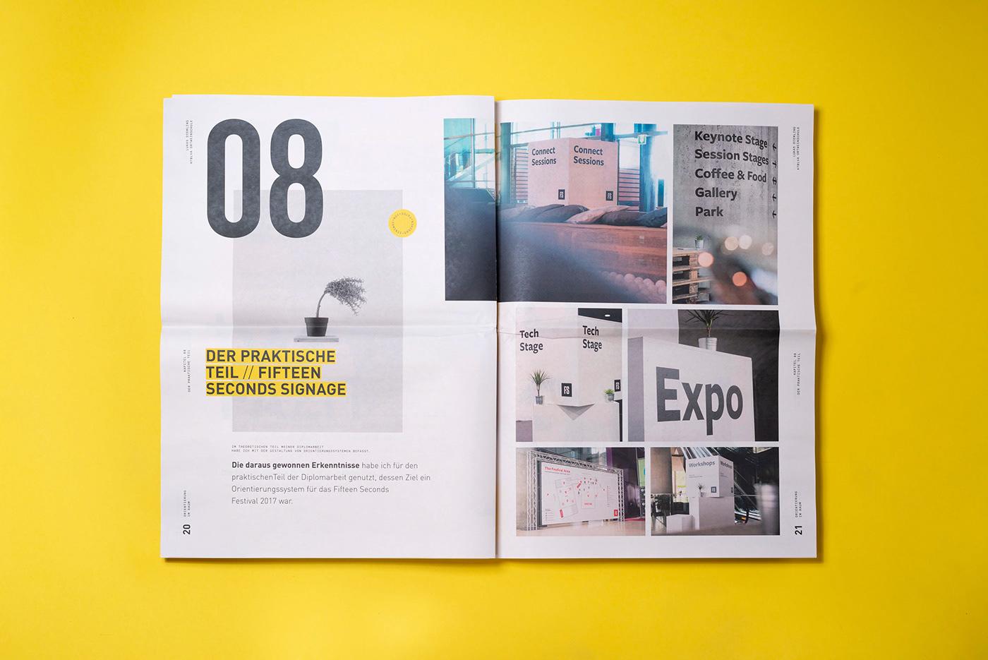 Orientierung im Raum – Design