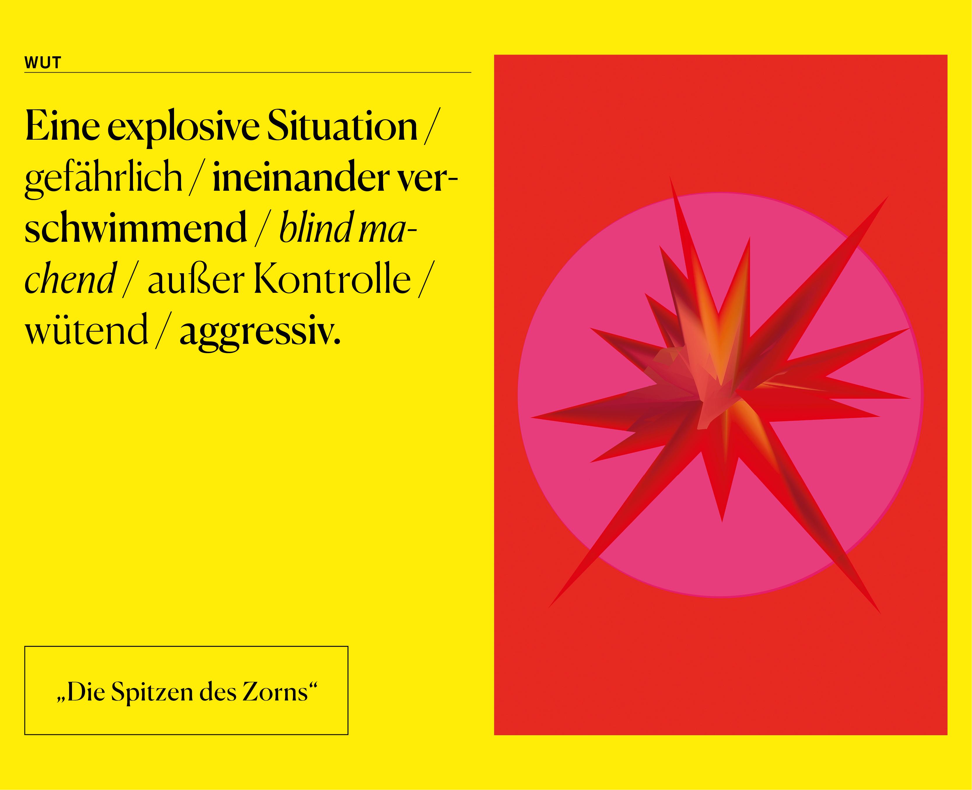 Teresa Grassinger – 24/7 – Visualisierung Wut
