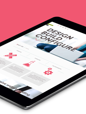 One page web­site design
