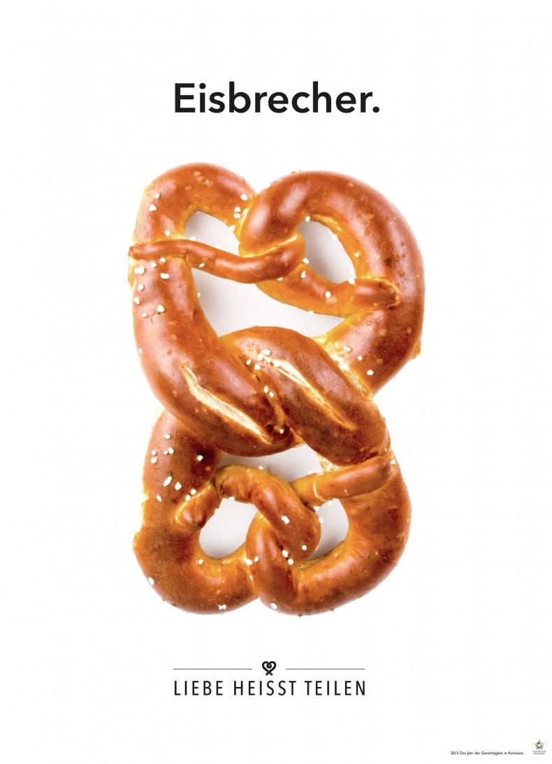 Brezel-Plakat Eisbrecher