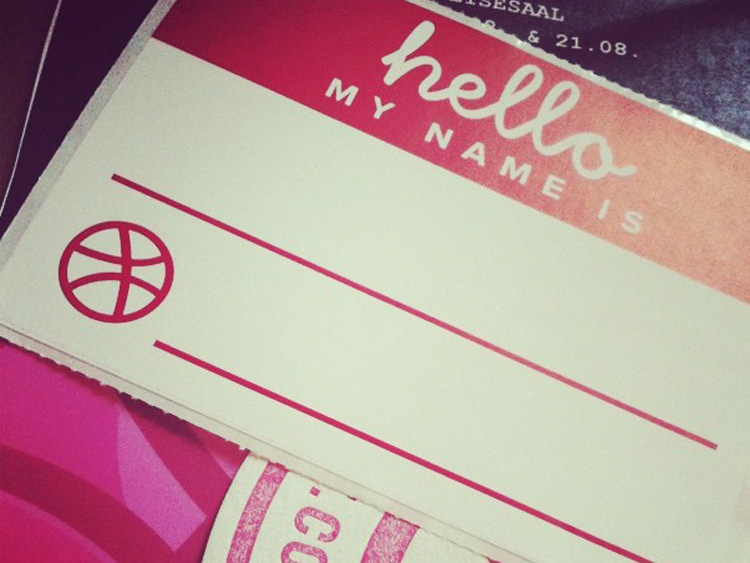 Austrian Dribbble Meetup – hello my name is ...