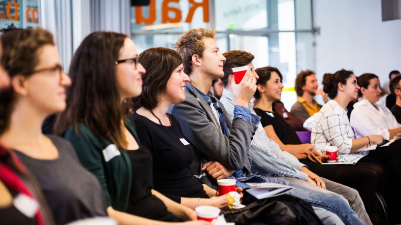 CreativeMornings Vienna – Crowd