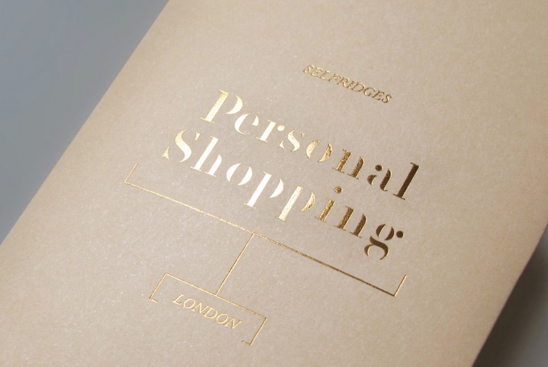 Personal Shopping Brochure