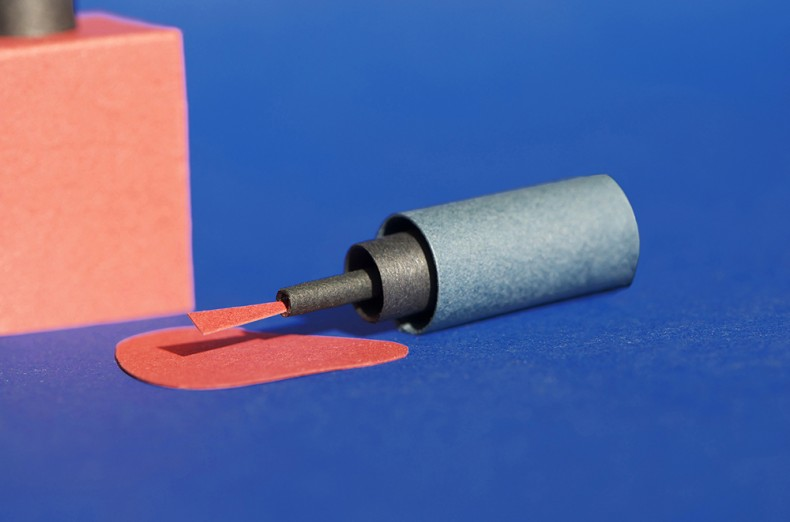 Paper Art – Nail Polish