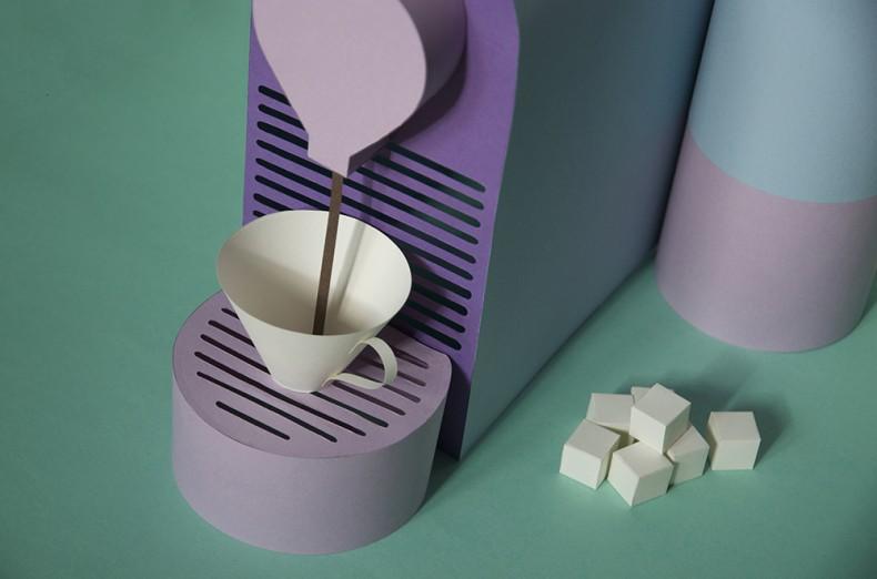 Paper Art – Nespresso U