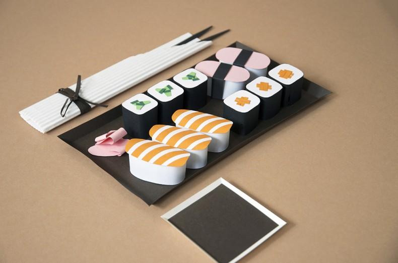 Paper Art – Sushi