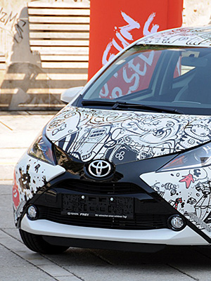 Cover – Toyota Aygo