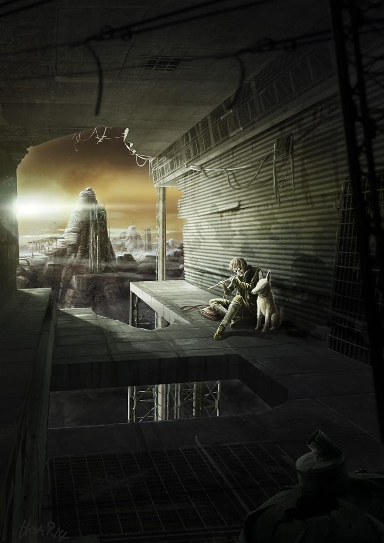Deep dark future – drawings