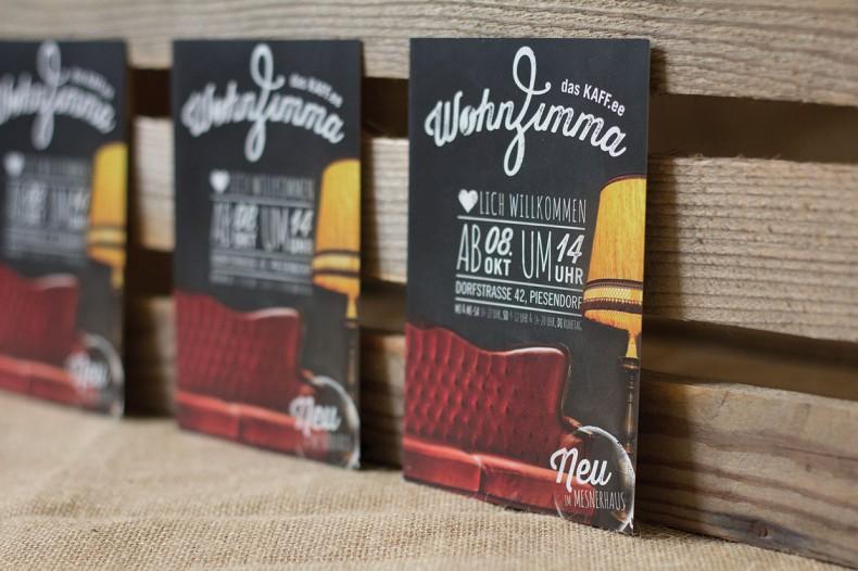 WohnZimma – Corporate Design