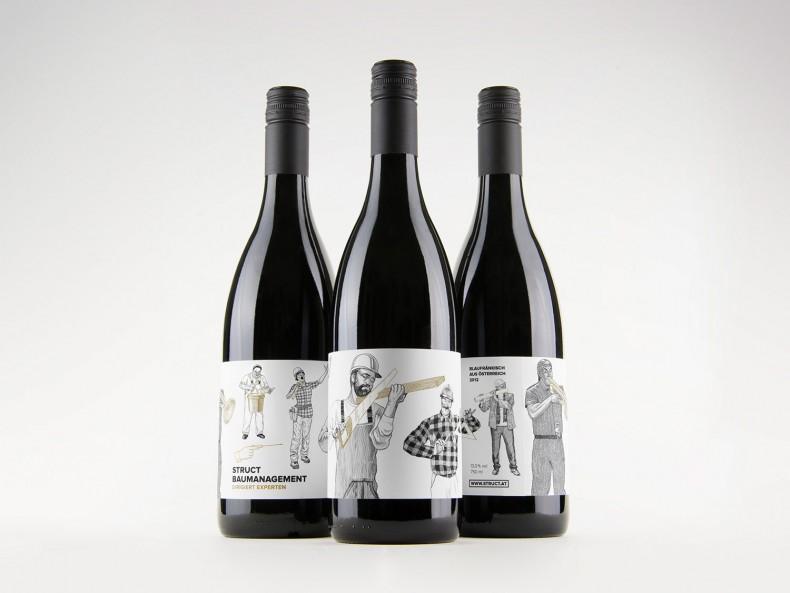 Struct – Weinflaschen