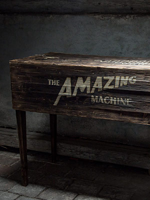 Cover – Amazing Machine