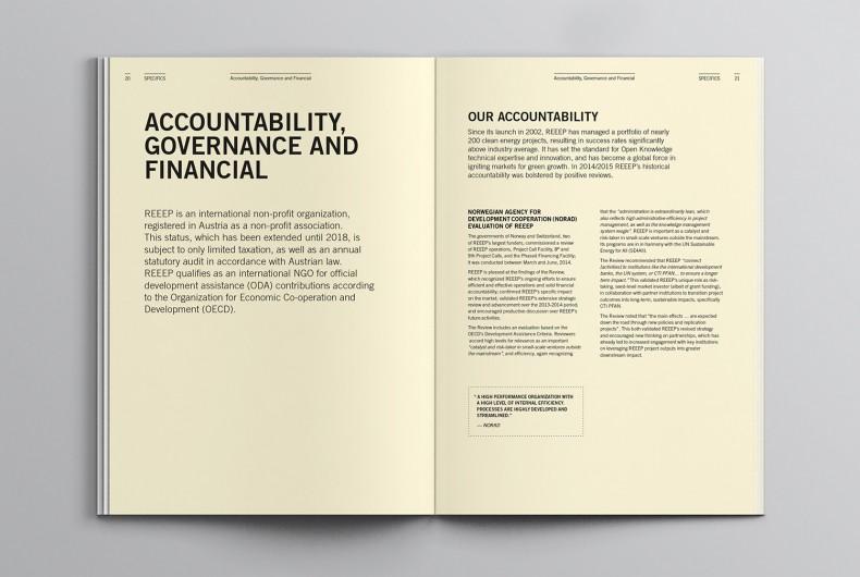 REEEP's Annual Report