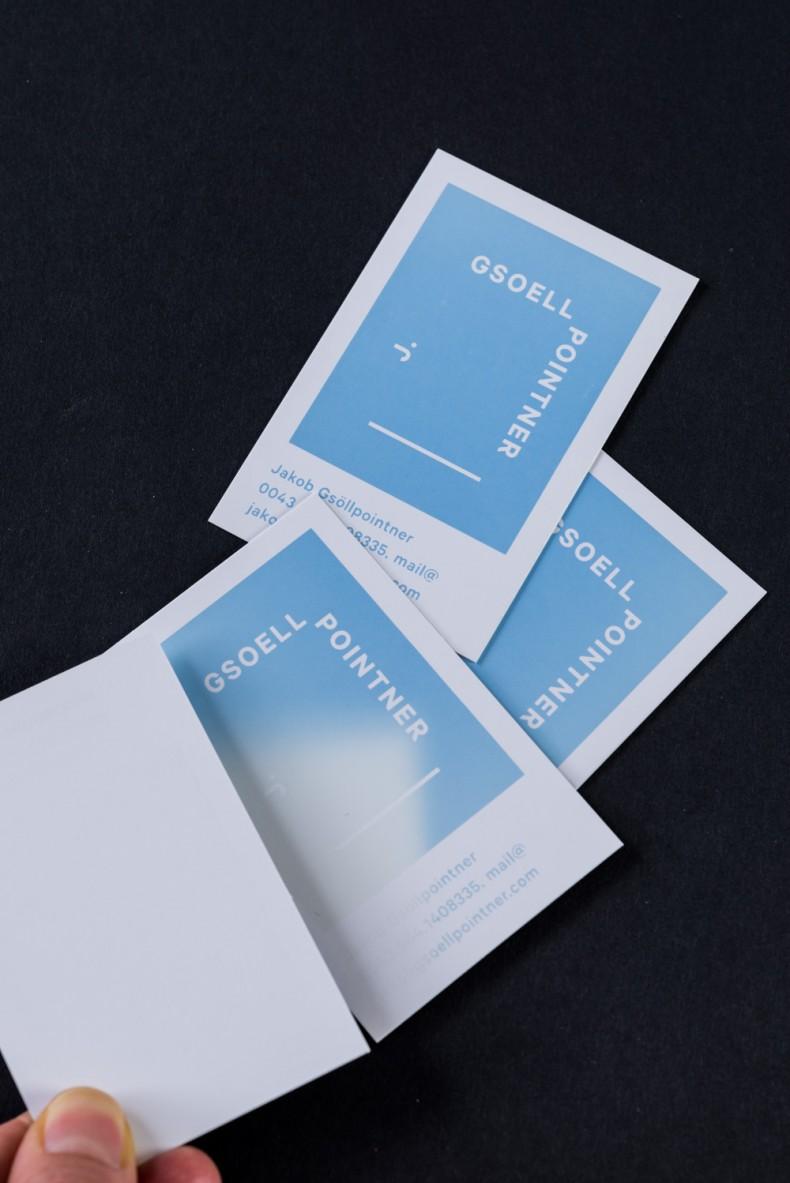 Jakob Gsöllpointner Visitenkarten