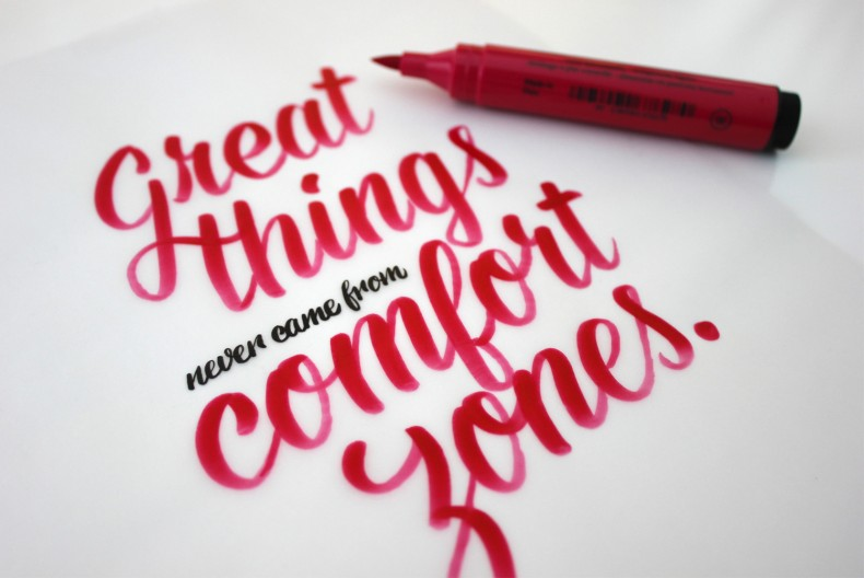 Great Things – Lettering