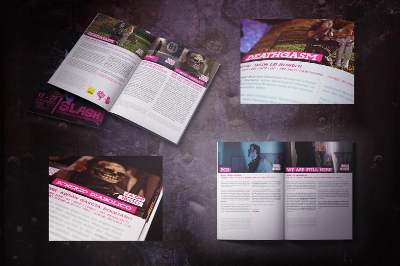 /Slash Filmfestival – Kommunikationslinie