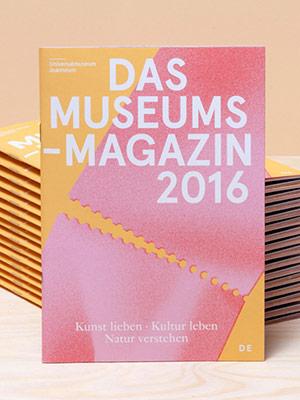 Cover –Museumsmagazin 2016 Graz