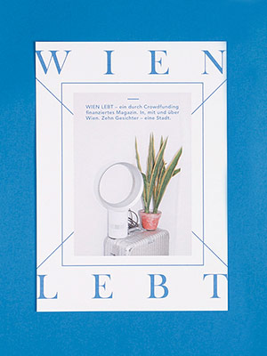 Cover – Wien lebt