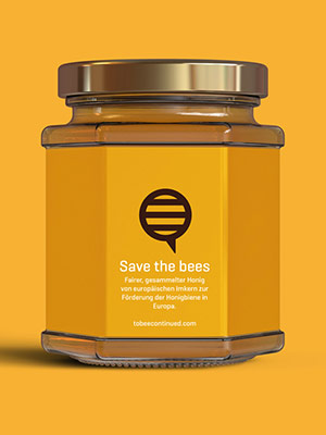 Cover – Save the bees