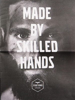 Made by skil­led Hands