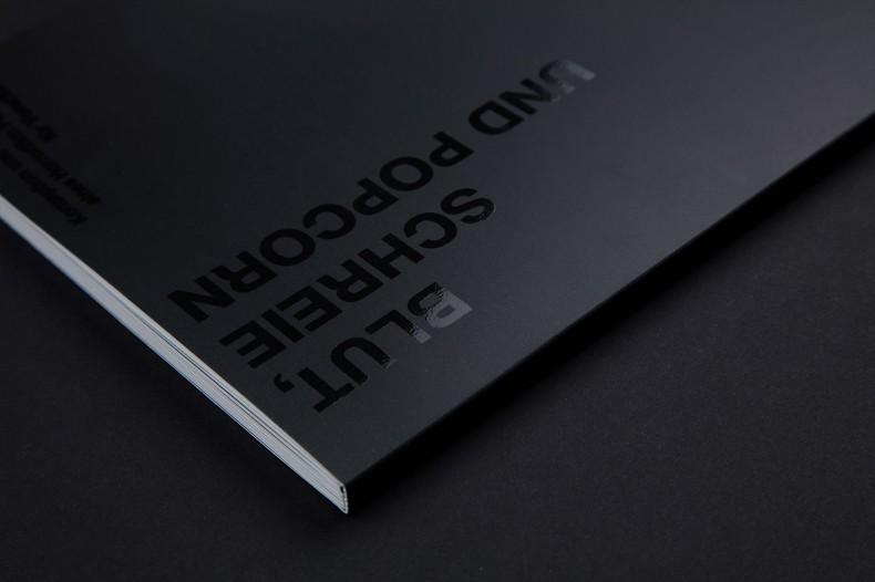 Blood, Screams and Popcorn – Corporate Design
