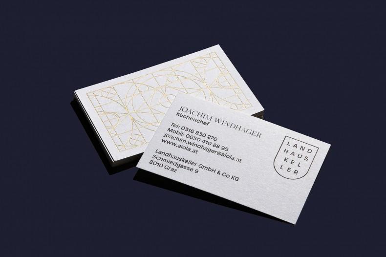 "Landhauskeller Graz – ""Identity & Environmental Branding"""