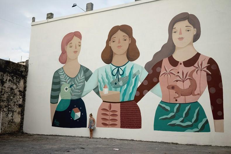 Frau Isa – Mural