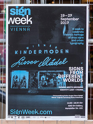 Sign Week Vien­na