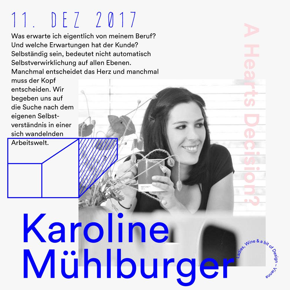 Ladies, Wine & Design –Vienna – Karoline Mühlburger